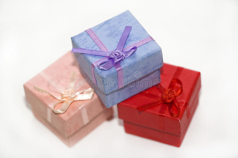 Download Gift box stock photo. Image of holiday, single, white - 24742976