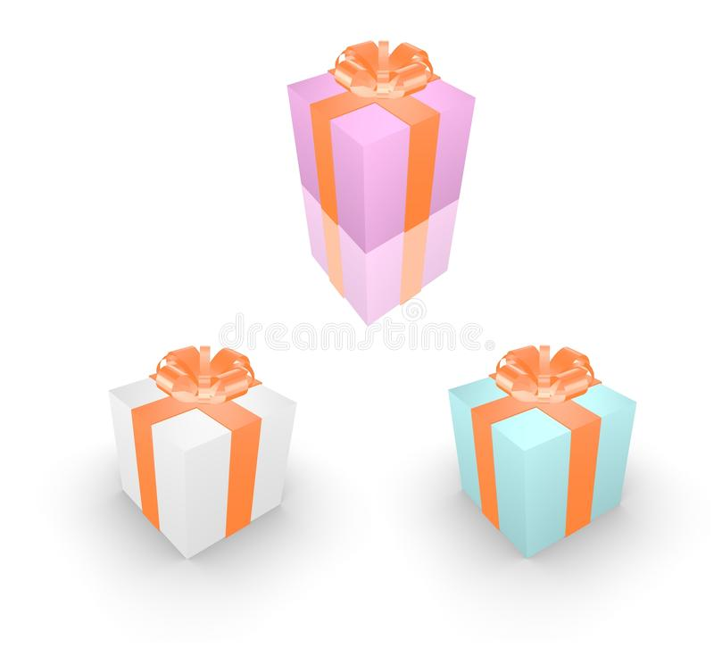 Download Gift box stock illustration. Image of birthday, shopping - 25340180