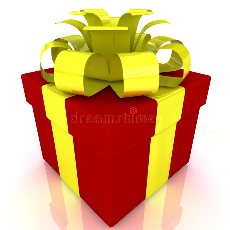 Download Gift box stock illustration. Illustration of color, card - 26581062