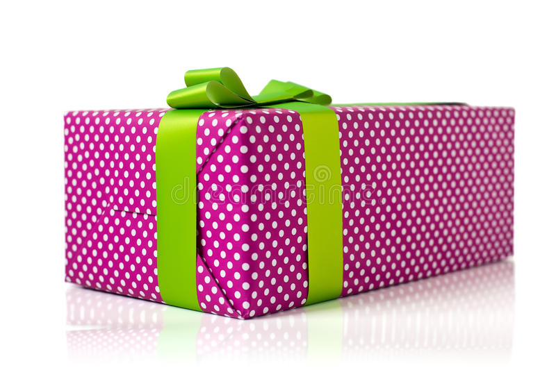 Download Gift Box stock image. Image of nobody, white, paper, pink - 26844949