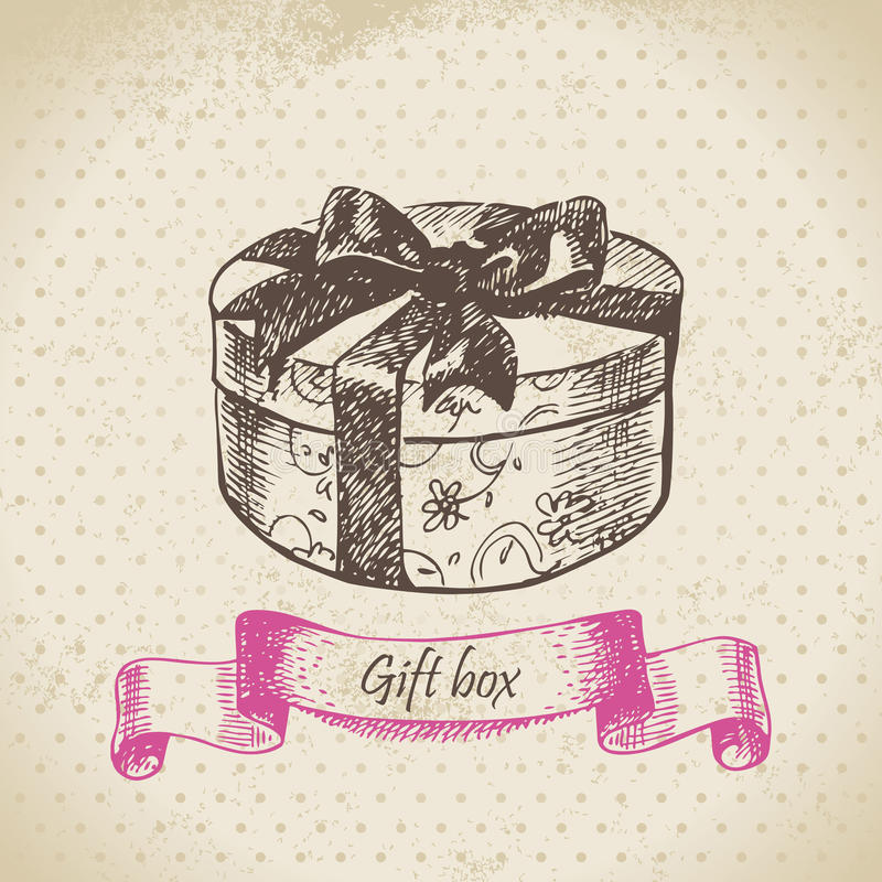 Download Gift box stock vector. Image of purchase, pack, present - 27553575