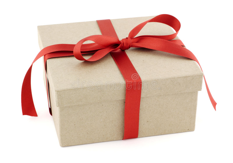Download Gift box stock photo. Image of christmas, ribbon, recycling - 7074678