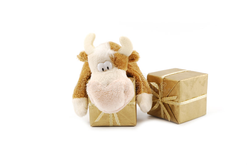 Download Gift box stock image. Image of gift, cheerful, christmas - 7298695