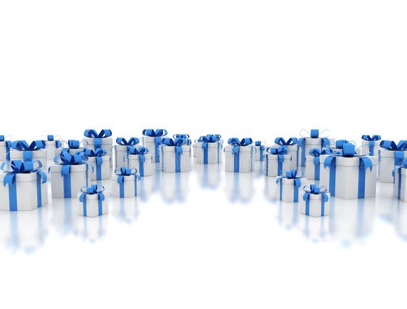 Download Gift box background stock illustration. Image of many - 23081554