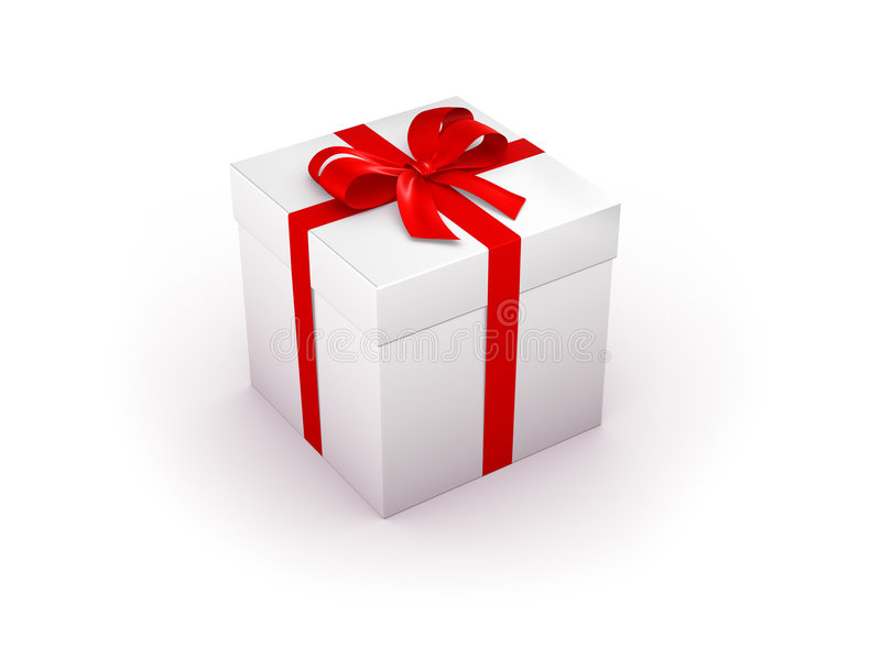 Gift box big royalty free stock images
