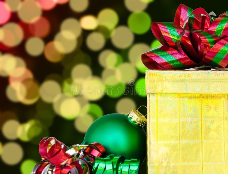 Download Gift Box And Christmas Ball - Holiday's Concept Stock Photo - Image: 33449160