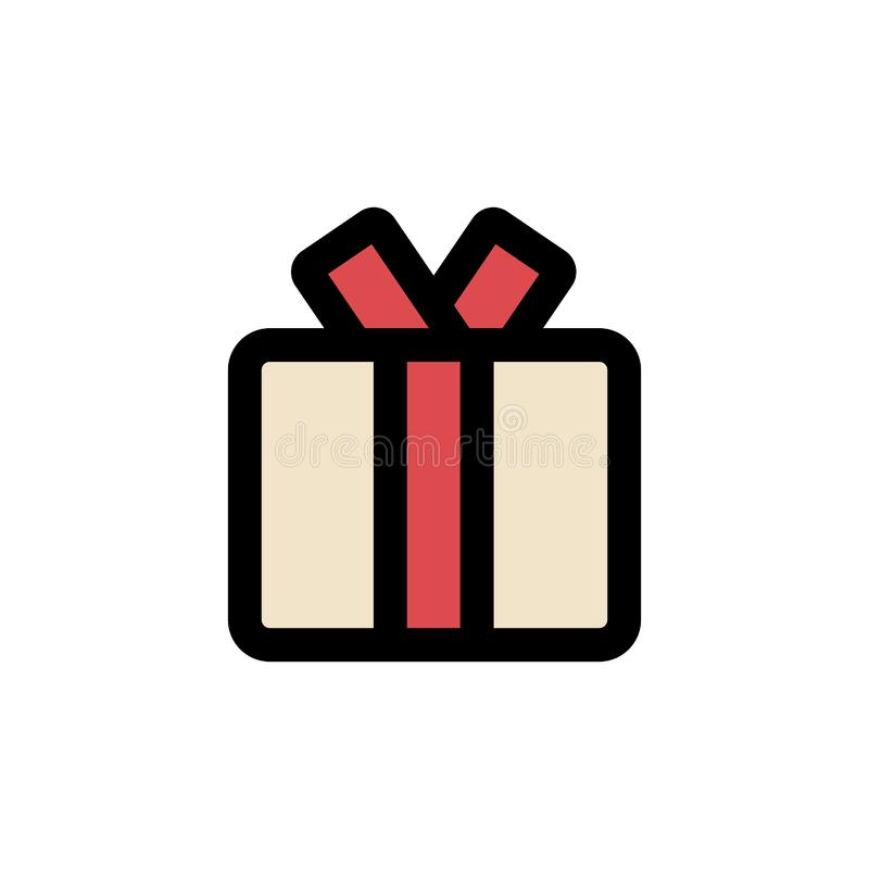Gift box icon royalty free illustration