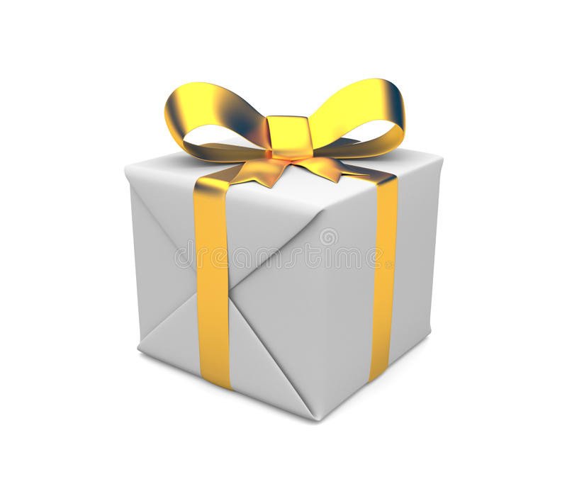 Download Gift Box. Image Contain Clipping Path Stock Illustration - Illustration of celebrate, render: 17944499