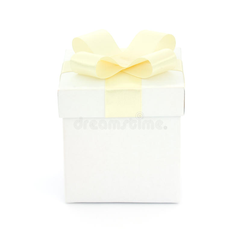 Download Gift box isolated stock photo. Image of birthday, decoration - 18486172