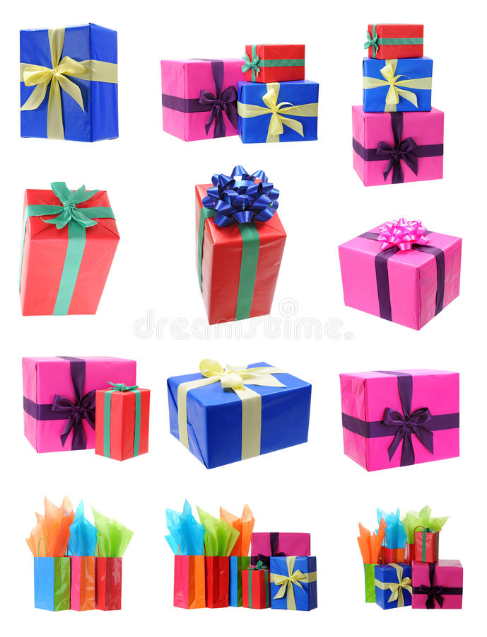 Download Gift box stock image. Image of anniversary, ribbon, present - 35027005