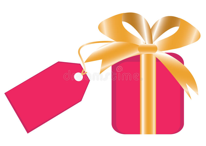 Download Gift Box With Laber For Your Text Stock Vector - Illustration: 11086562