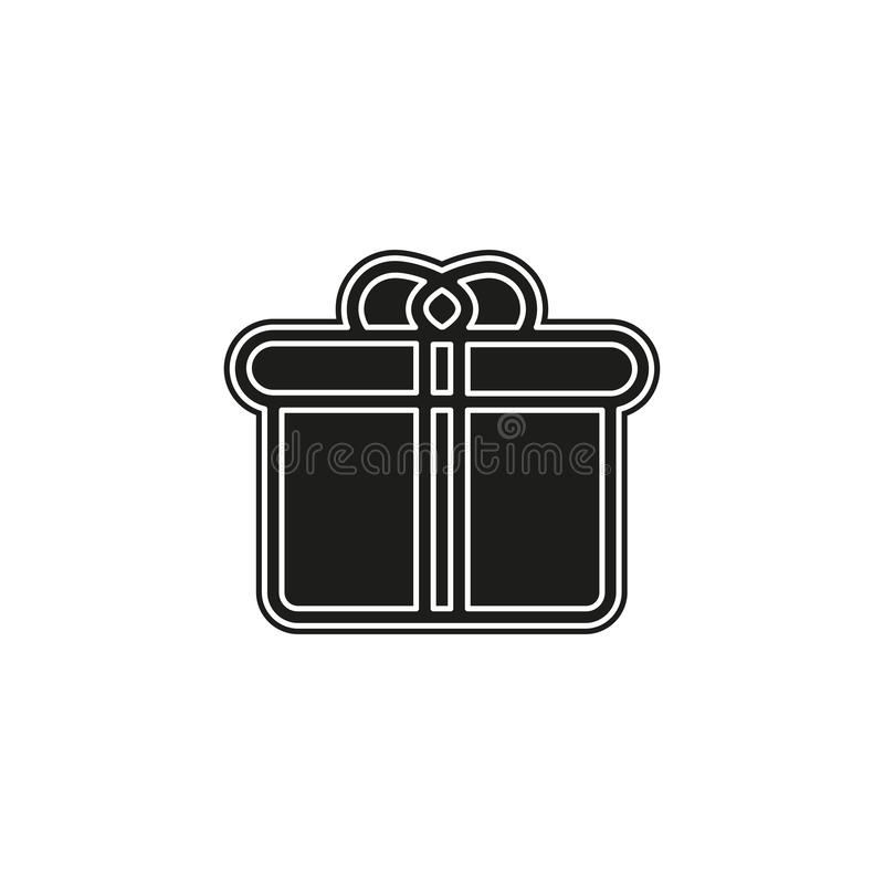 Gift Box Logo For Business Company Stock Vector Illustration Of Isolated Surprise 138854594