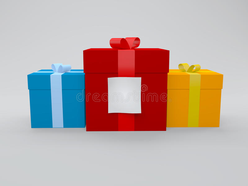 Gift box with note