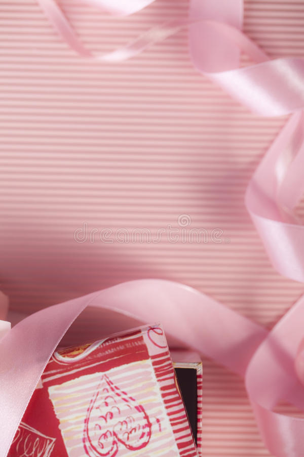 Download Gift box and ribbon stock image. Image of gift, packet - 22822265