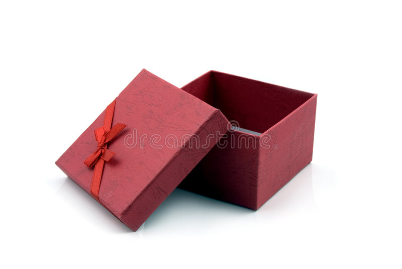 Gift Box with Ribbon royalty free stock photography