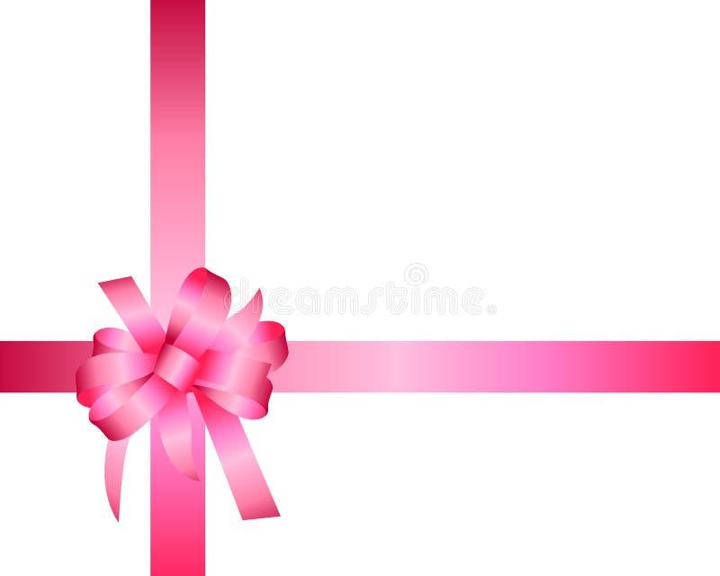 Gift box ribbon template vector illustration