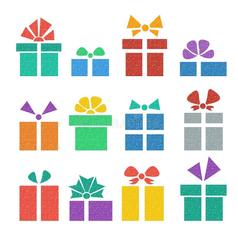 Download Gift box set stock illustration. Image of holiday, decor - 33322440