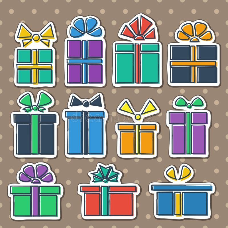 Download Gift box set stock illustration. Illustration of color - 33322651