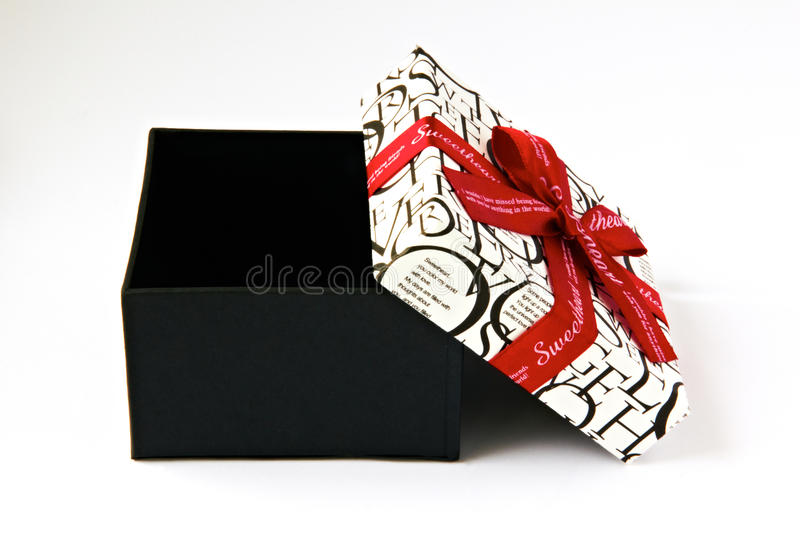 Download Gift box for sweetheart stock image. Image of object - 22864557