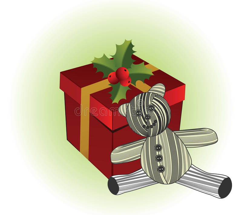Download Gift Box With Teddy Royalty Free Stock Images - Image: 17387189
