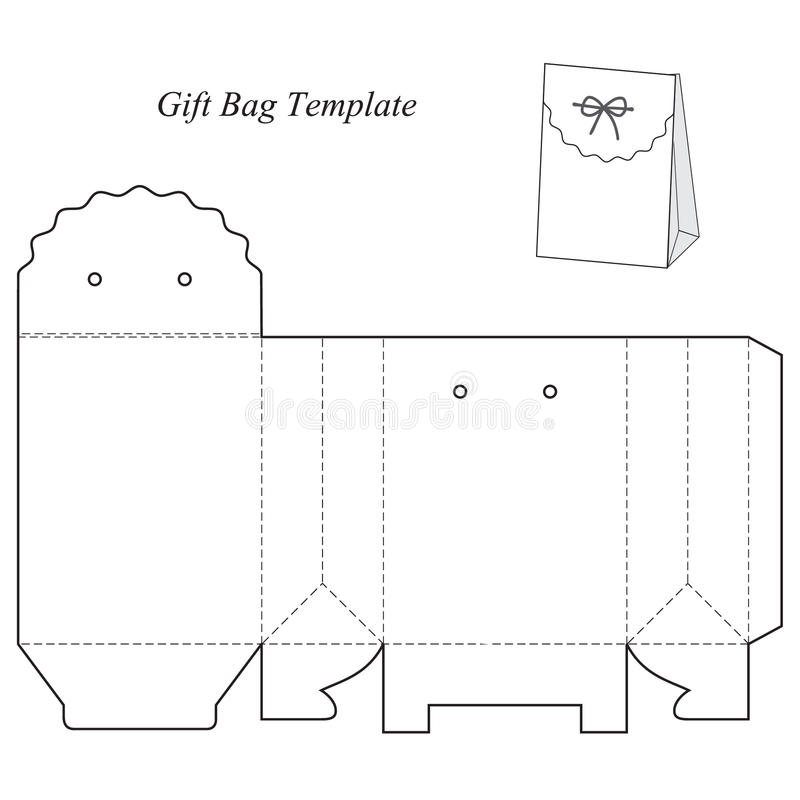 Gift box template with lid stock vector illustration of object download gift box template with lid stock vector illustration of object 76831869 pronofoot35fo Image collections
