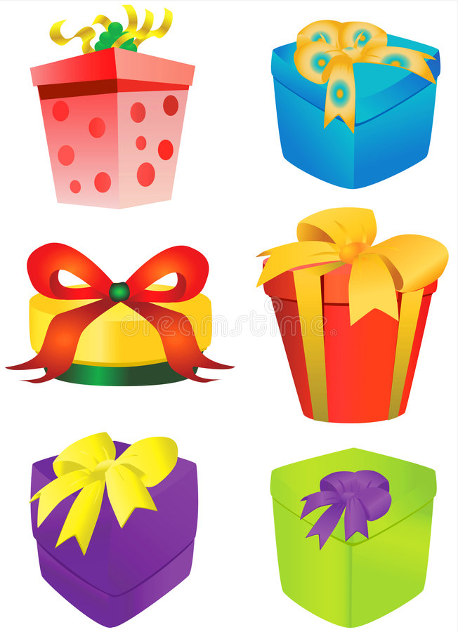 Gift box vector 2
