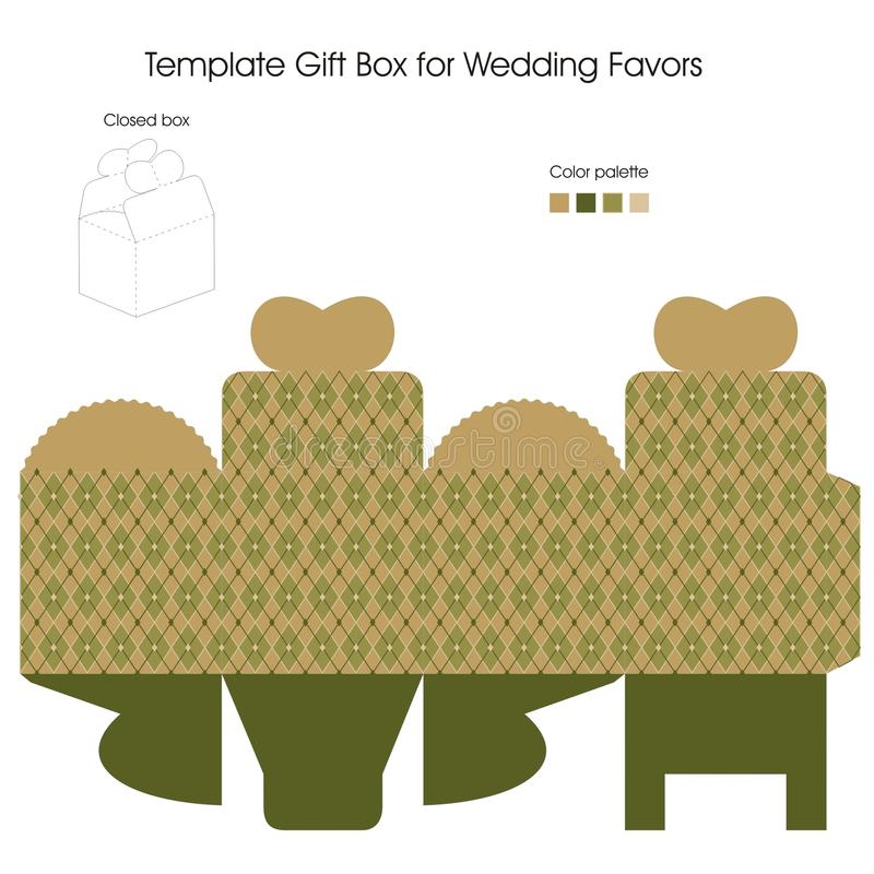 Download Gift Box For Wedding Favors Stock Vector - Image: 22654458