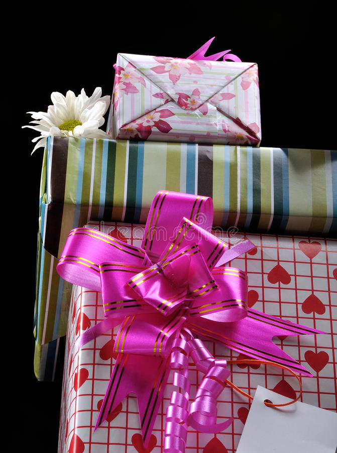 Download Gift boxes stock image. Image of give, gifts, greeting - 10629665