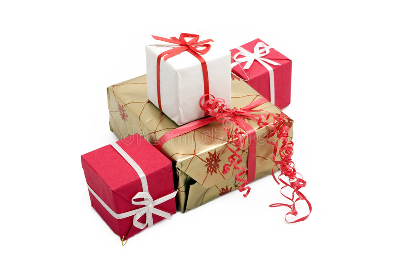 Gift Boxes #11 Stock Images