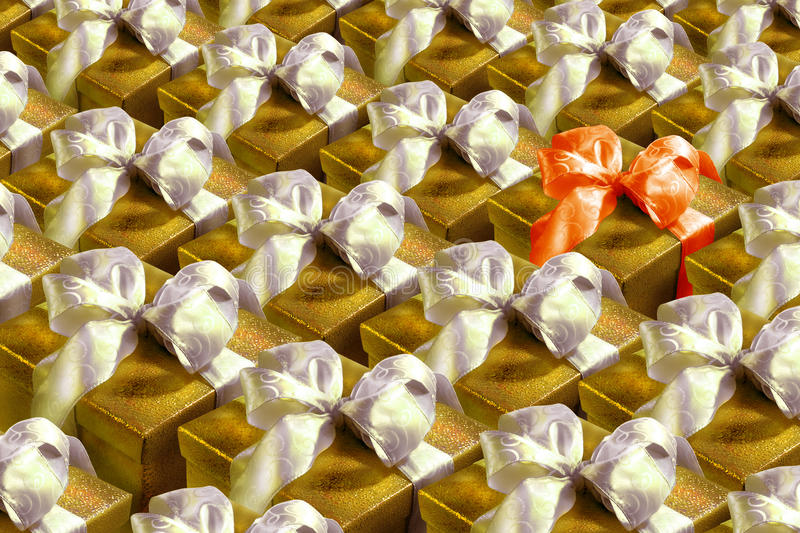 Download Gift boxes stock image. Image of packaging, difference - 11260543