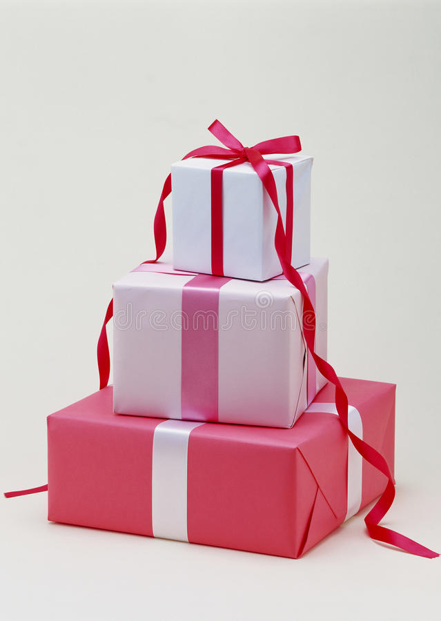 Download Gift Boxes stock image. Image of gold, boxes, isolated - 11718533
