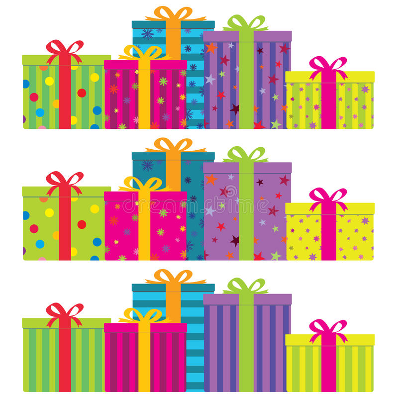 Gift Boxes royalty free illustration