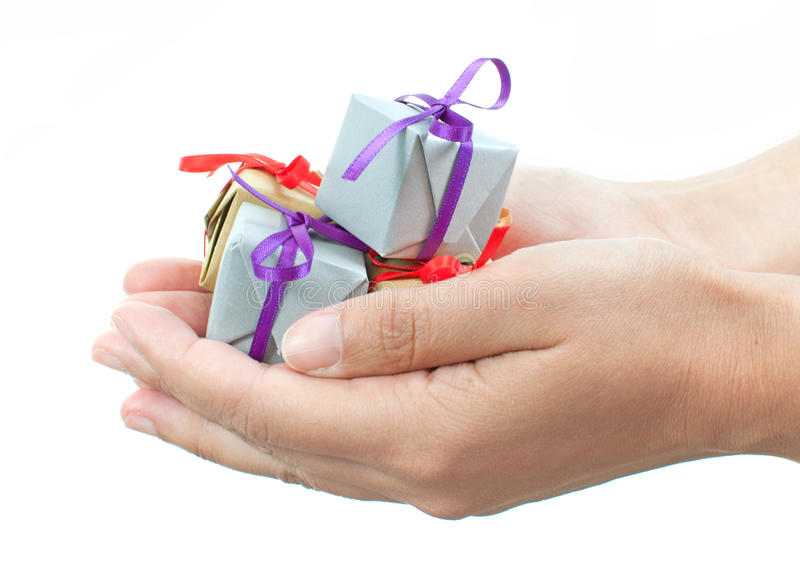 Download Gift boxes stock photo. Image of paper, give, decorative - 22121184