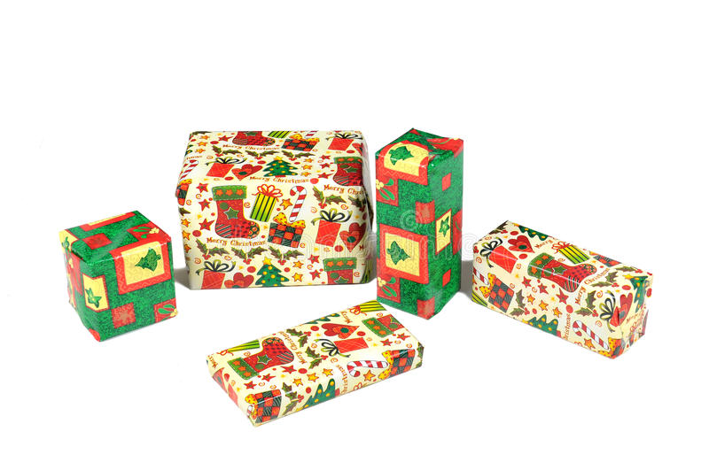 Download Gift Boxes stock image. Image of pile, vertical, pattern - 25791767