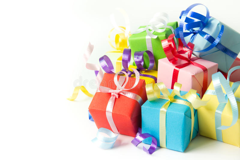 Download Gift boxes stock photo. Image of background, give, green - 26228790