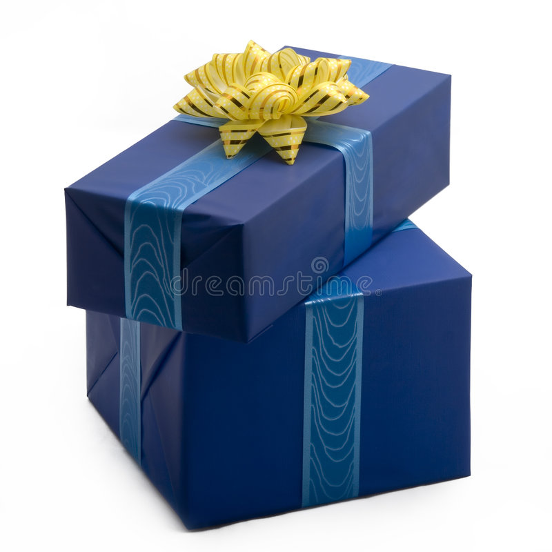 Download Gift boxes #30 stock image. Image of gold, special, white - 1611749