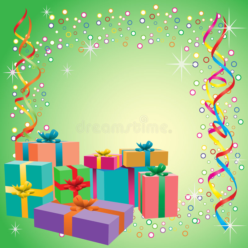 Download Gift boxes stock vector. Image of christmas, xmass, bundle - 5476204