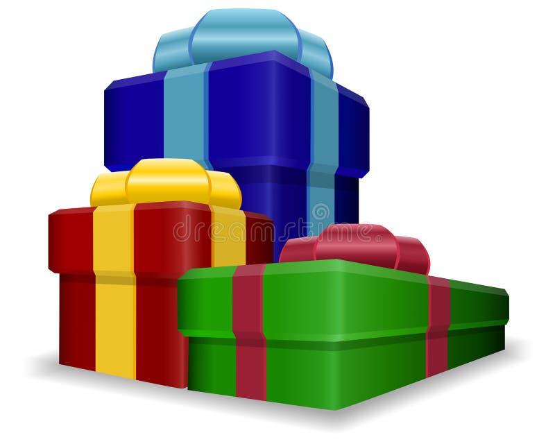 Gift Boxes stock foto