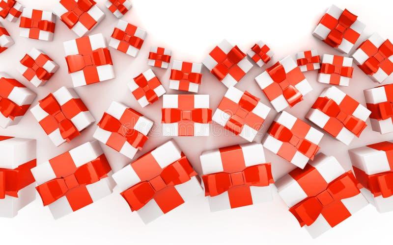 Gift Boxes vector illustratie