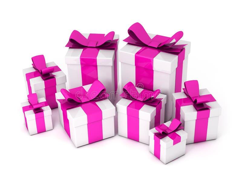 Gift Boxes stock illustratie