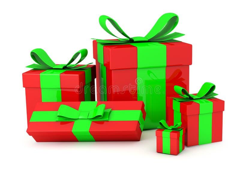Gift Boxes royalty-vrije illustratie