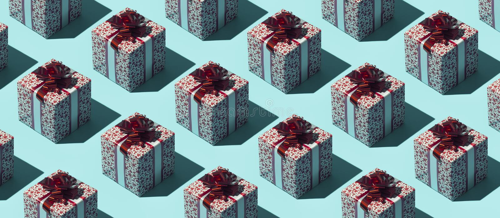 Gift boxes background royalty free stock photography