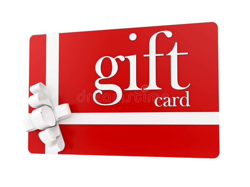 Gift card stock photography