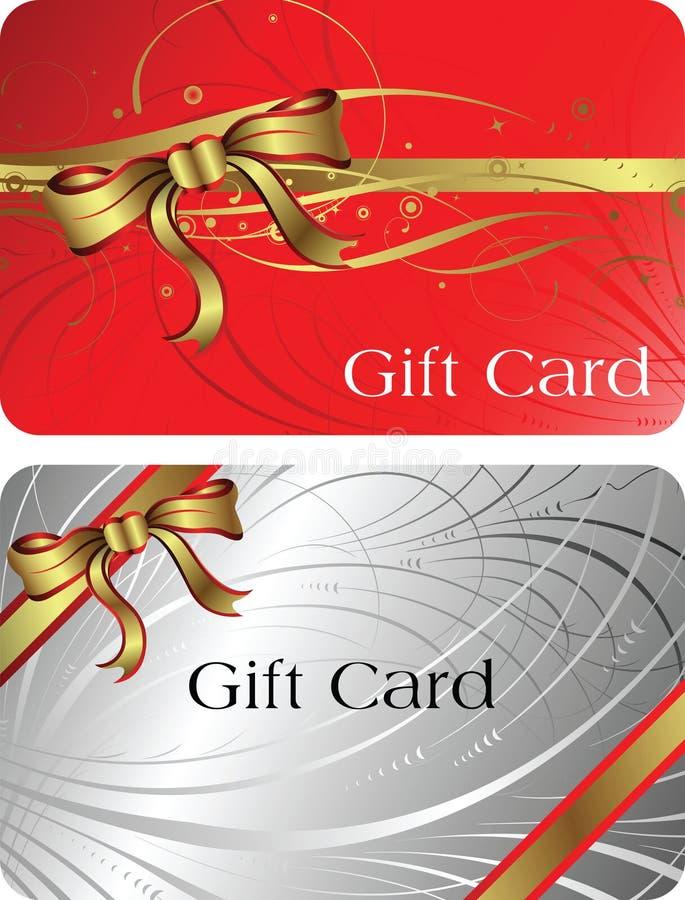 Gift Card royalty free illustration