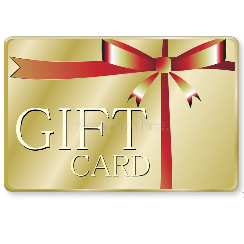Gift card. A rendering of a generic gift card