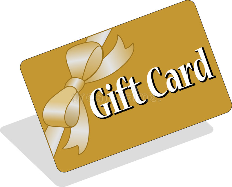 Gift Card/eps. Illustration of a credit card style gift card. can be personalized. eps file available