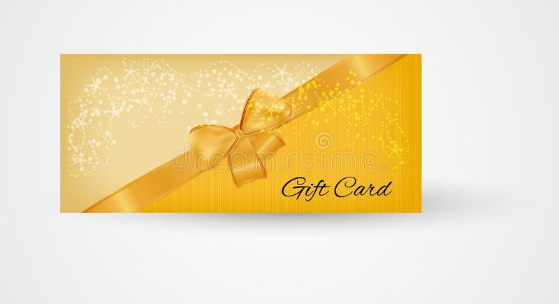 Gift card vector illustration