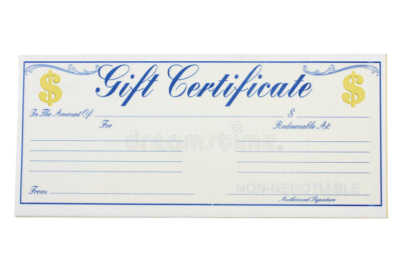 Download Gift Certificate stock image. Image of giving, card, present - 11079031