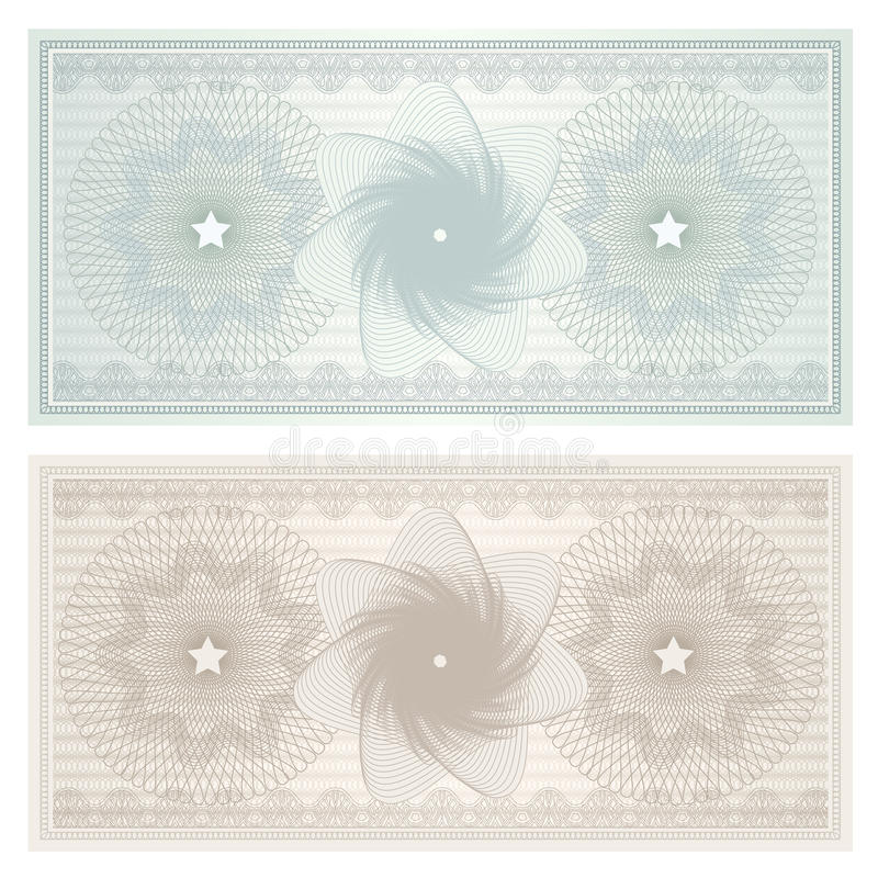 gift certificate  voucher  coupon   pattern stock image