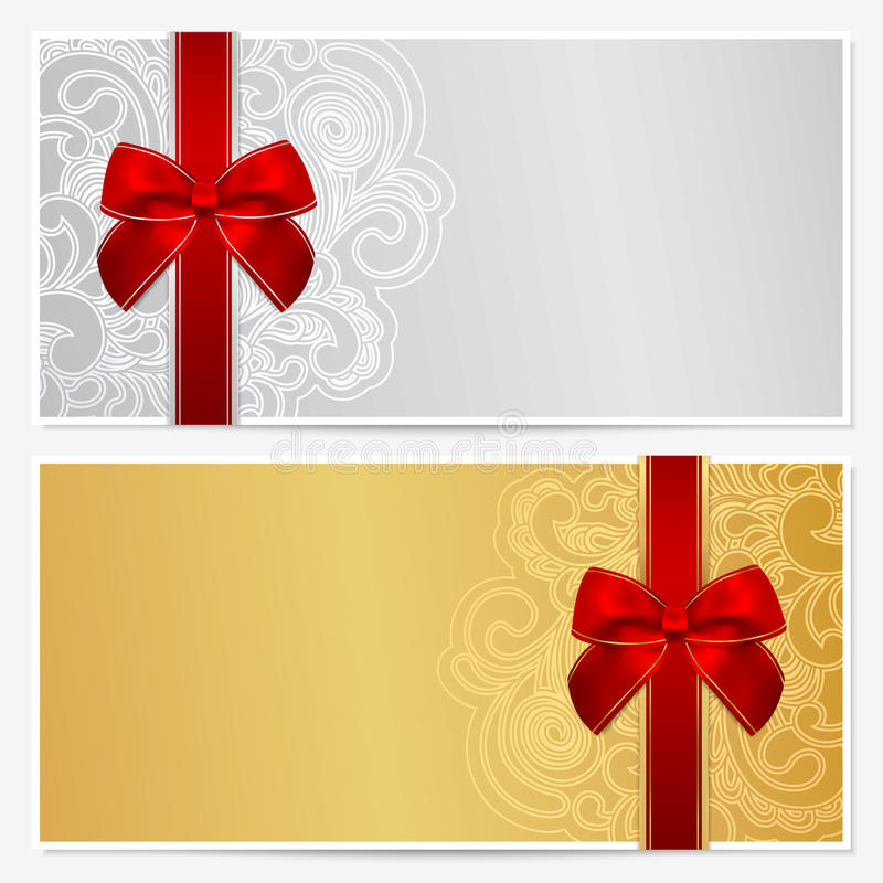 Free Gift Certificate (Voucher, Coupon) Template Stock Image - 32292301